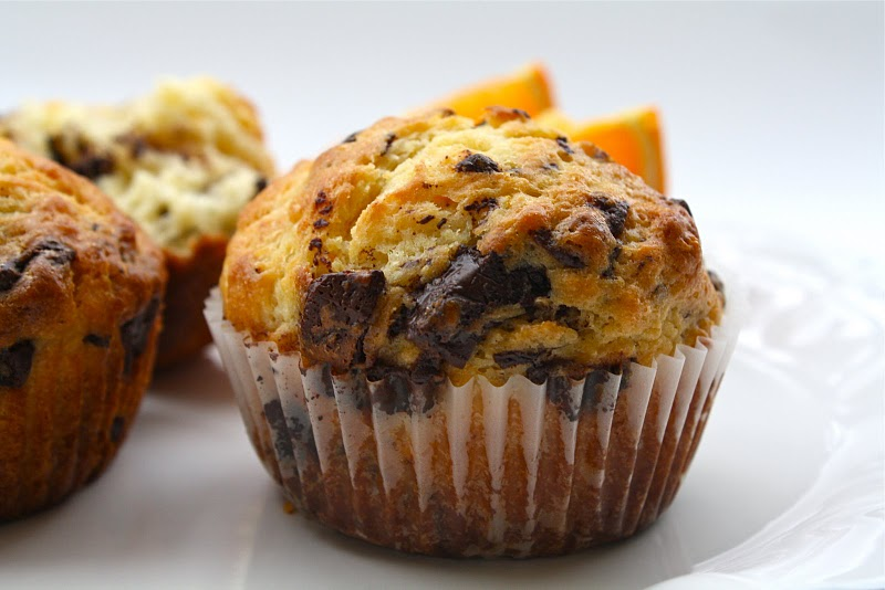 Orange-Chocolate Muffins